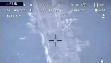 تصویر از ضربه سنگین سپاه پاسداران به ترامپ/هوافضای سپاه، فیلم رصد ناو آمریکایی «باکسر» را منتشر کرد