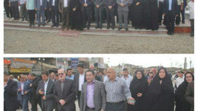 تصویر از افتتاح سه پروژه عمرانی شهرداری لنگرود با حضور معاون عمرانی وزیر کشور