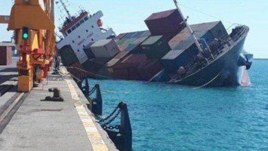 تصویر از موسسه دولتی دریانوردی جمهوری آذربایجان گزارش داد کشتی باری ایران در دریای کاسپین غرق شد/نجات ۹ خدمه توسط جمهوری آذربایجان