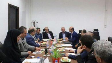 تصویر از جلسه بازآفرینی شهر رشت برگزار شد