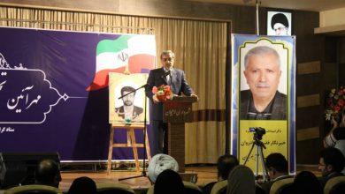 تصویر از فرماندار لاهیجان در مهر آئین تجلیل از فعالان خبری : مانایی خبرنگاران به حریت آنان است