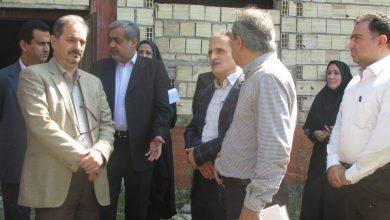 تصویر از بازدید فرماندار لاهیجان و رئیس سازمان برنامه و بودجه استان گیلان از مجتمع فرهنگی هنری لاهیجان