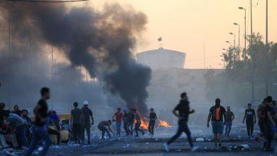 تصویر از وزارت دفاع عراق: طرف سوم، مسئول کشتار در تظاهراتهای اخیر است
