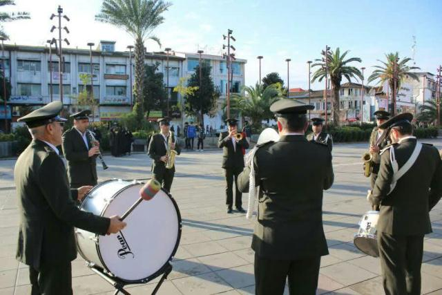 گروه موزیک شهرداری رشت