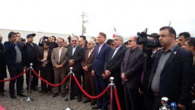 تصویر از لاهوتی در مراسم افتتاح سد لاستیکی گالشکلام: استان گیلان نیازمند ۲.۸ میلیارد متر مکعب منابع آبی است