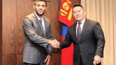 تصویر از سعید ملایی، شهروندی مغولستان را پذیرفت