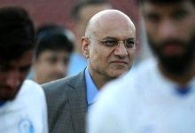 تصویر از امیرحسین فتحی از مدیرعاملی استقلال استعفا داد