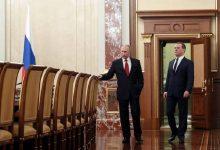 تصویر از نخست وزیر روسیه علت استعفای دولت را اعلام کرد