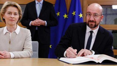 تصویر از اتحادیه اروپا هم برگزیت را امضا کرد/ پایان اتحاد لندن و بروکسل