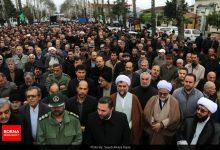 تصویر از گزارش تصویری راهپیمایی مردم لاهیجان در حمایت از سپاه و شهدای سانحه هواپیما