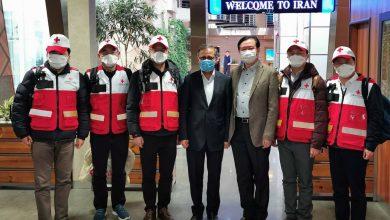 تصویر از تیم پزشکان متخصص چینی وارد تهران شد