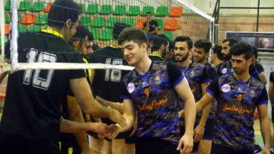 تصویر از پیروزی مقتدرانه چای رفاه لاهیجان در دیدار پلی آف لیگ برتر والیبال گیلان