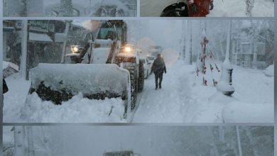 تصویر از گزارش تصویری عملکرد شهرداری لنگرود از ابتدای بارش برف تا امروز