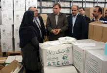 تصویر از بازدید استاندار از انبار محموله بهداشتی ارسالی به گیلان