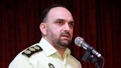 تصویر از درگذشت فرمانده بازرسی نیروی انتظامی گیلان