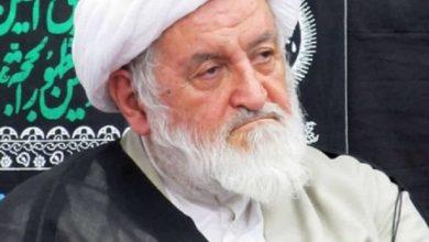 تصویر از درگذشت عضو شورای عالی حوزه های علیمه استان تهران به خاطر کرونا