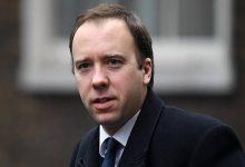 تصویر از وزیر بهداشت انگلیس هم به کرونا مبتلا شد