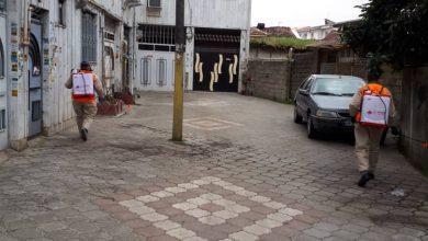 تصویر از گزارش تصویری  ضدعفونی و گندزدایی کوچه به کوچه توسط شهرداری لاهیجان