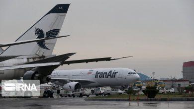 تصویر از همه پروازهای اروپایی هواپیمایی هما تعلیق شد