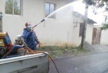 تصویر از به منظور جلوگیری از شیوع ویروس کرونا؛ شهرداری رشت روستای سراوان را ضدعفونی کرد