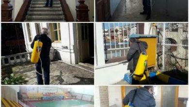 تصویر از ضدعفونی کردن مستمر تمامی مجموعه های سازمان فرهنگی، اجتماعی و ورزشی شهرداری رشت