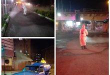 تصویر از پاک سازی و ضدعفونی روزانه شهر رشت توسط حوزه خدمات شهری