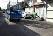 تصویر از پسماند های خشک خانوار های شهری رشت جمع آوری می شود
