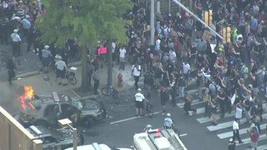 تصویر از ادامه اعتراضات به قتل یک سیاهپوست در آمریکا / اعلام حکومت نظامی در لسآنجلس، فیلادلفیا، آتلانتا و دِنوِر