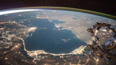 تصویر از خزر در کمترین تراز ۳۰ سال اخیر قرار گرفته است/بحران در خزر؛ بزرگترین دریاچه جهان در مسیر خشکی؟