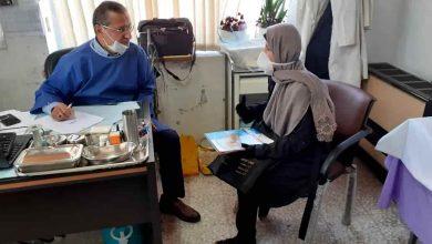 تصویر از اجرای طرح ویزیت رایگان در مرکز درمانی لیجارکی منطقه آزاد انزلی