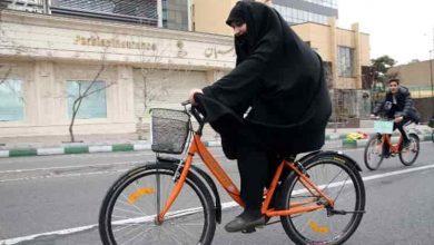 تصویر از دوچرخهسواری زنان در طرقبه و شاندیز ممنوع شد