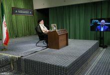 تصویر از رهبر معظم انقلاب اسلامی در ارتباط تصویری با نمایندگان مردم در مجلس شورای اسلامی: مجادلات مردم را ناراحت میکند | همه باید در مقابل دشمن یکصدا باشیم
