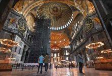 تصویر از اردوغان دستور تبدیل «ایاصوفیه» به مسجد را صادر کرد