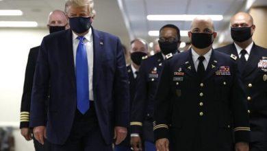 تصویر از ترامپ با انتشار این تصویر خود را میهنپرست خواند/عکس