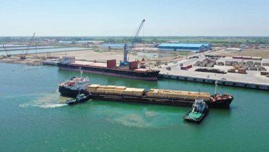 تصویر از با پهلوگیری ۴۵ فروند کشتی در سه ماهه ۹۹ افزایش ۲۲۱ درصدی کشتی های ورودی به مجتمع بندری کاسپین منطقه آزاد انزلی