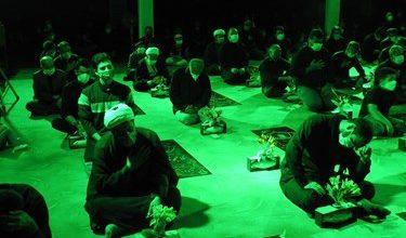 تصویر از شهدای لاهیجان میزبان عزاداران حسینی