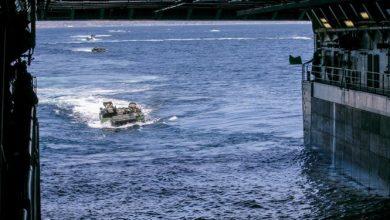 تصویر از مرگ ۹ تفنگدار دریایی آمریکا در حادثه برای زرهپوش آبی-خاکی تأیید شد