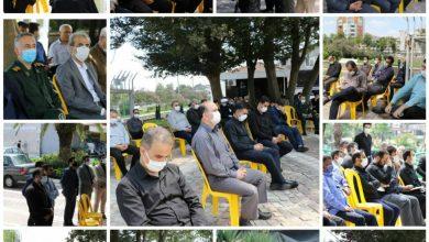 تصویر از مراسم عزاداری هیات مذهبی شهرداری لاهیجان برگزار شد