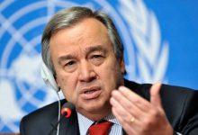 تصویر از واکنش دبیرکل سازمان ملل به ادعای آمریکا درباره اعمال تحریمها علیه ایران: نمیتوانیم اقدامی انجام دهیم / در خصوص صحت ادعای آمریکا، عدم قطعیت وجود دارد
