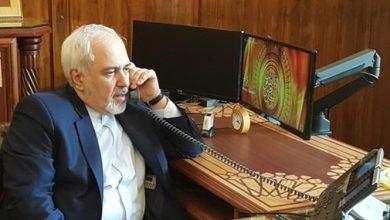 تصویر از گفتوگوی تلفنی ظریف و همتای آذربایجانی در پی درگیریهای باکو و ایروان