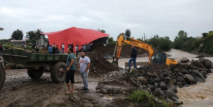 تصویر از بحران در تالش همچنان ادامه دارد/ روستائیان سیلزده چشمبهراه سپاه