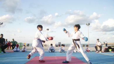 تصویر از مسابقه کاراته استعدادیابی و نمایشی ویژه نونهالان در منطقه آزاد انزلی برگزار شد
