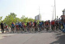 تصویر از قهرمانی تیم دوچرخه سواری منطقه آزاد انزلی