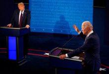 تصویر از حاشیههای اولین مناظره:از لبخندهای بایدن تا اخم ترامپ و قطع کردن صحبتهای رقیب
