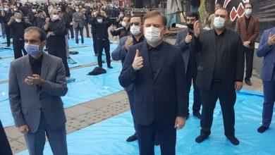 تصویر از امروز رخ داد: حضور استاندار گیلان در اجتماع اربعین حسینی رشت