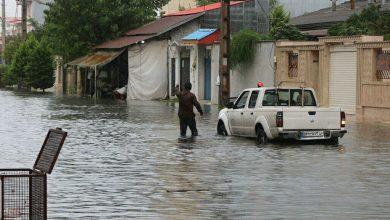 تصویر از فرماندار انزلی: مردم هنگام آبگرفتگی و بارشهای سنگین کمتر در سطح شهر تردد کنند