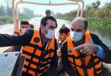 تصویر از بازدید فرماندار لنگرود به همراه شهردار چاف و چمخاله از پروژه های عمرانی