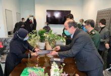 تصویر از با حضور فرماندار لنگرود در بیمارستان شهید حسین پور؛ تجلیل از مدافعان سلامت در لنگرود/کاهش میزان آمار ورودی به بیمارستان