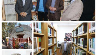 تصویر از بازدید شهردار لنگرود از کتابفروشی مستقر در محوطه کتابخانه شهر کتاب