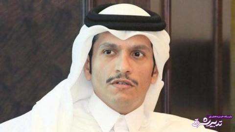 تصویر از وزیر خارجه قطر: روابط قطر با ایران دلیل قطع روابط عربستان و امارات با ما نیست